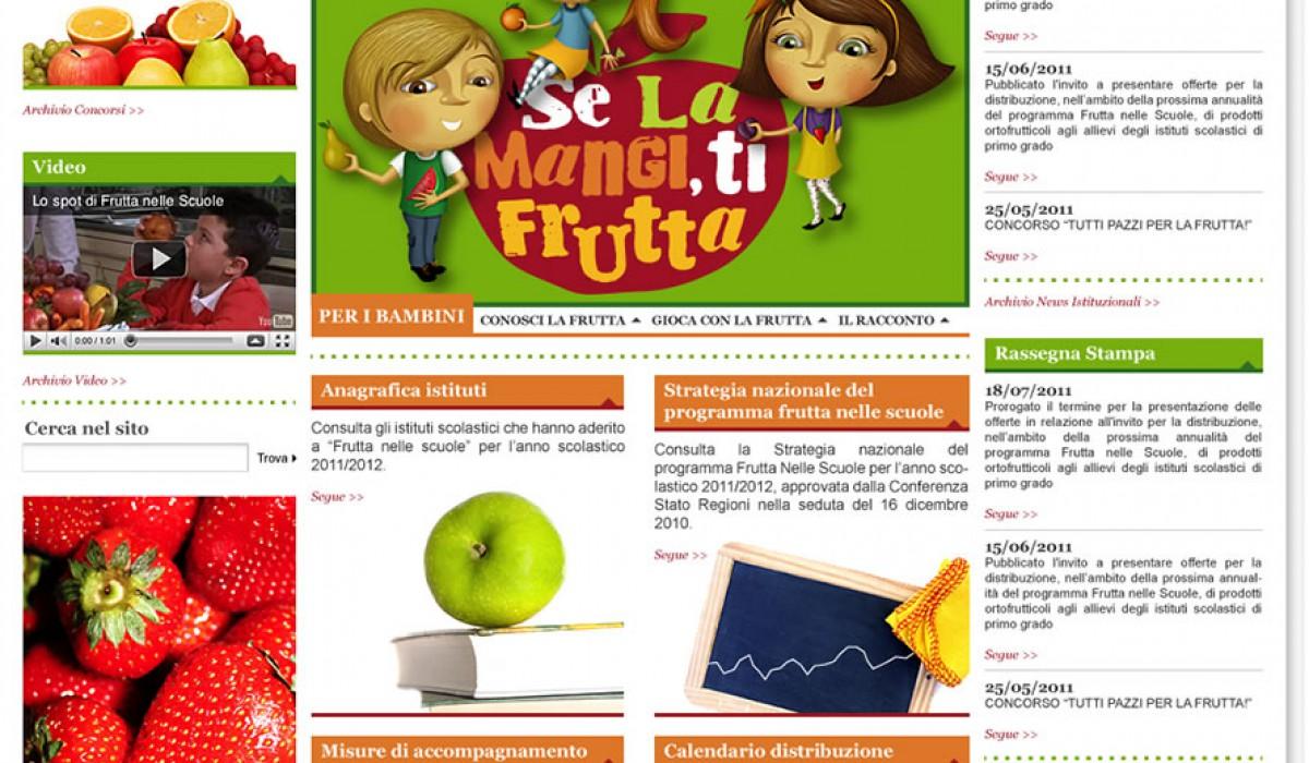Frutta Nelle Scuole Calendario Distribuzione.Stefano Masciocchi Digital Art Director Category
